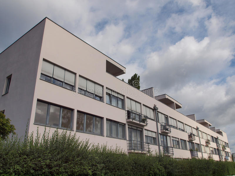 Weissenhof Siedlung à Stuttgart images libres de droits