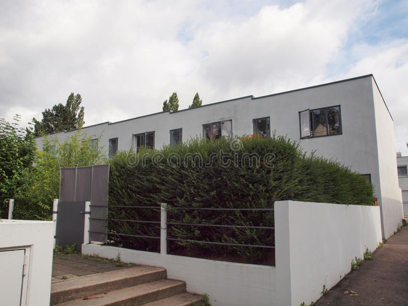 Weissenhof Siedlung à Stuttgart photo stock