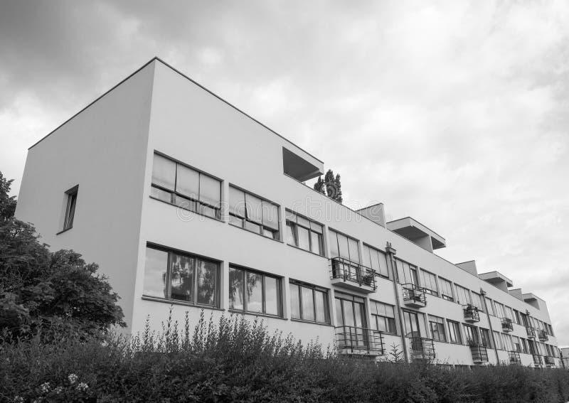 Weissenhof Siedlung in Stuttgart stockbild