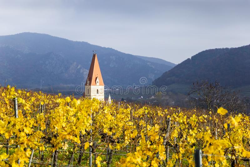 Weissenkirchen Valle de Wachau austria  imágenes de archivo libres de regalías