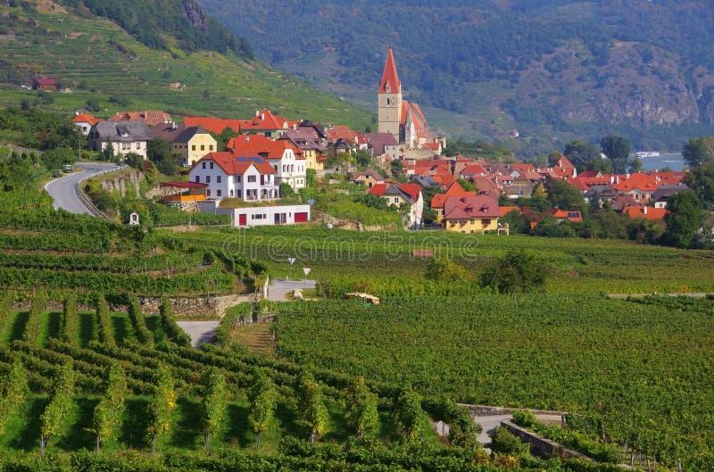 Weissenkirchen in Wachau lizenzfreie stockfotografie