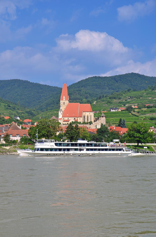Weissenkirchen, Wachau, Austria imagen de archivo libre de regalías