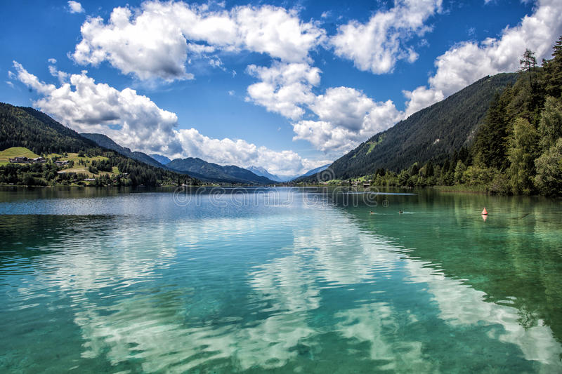 Weissensee royalty free stock photo