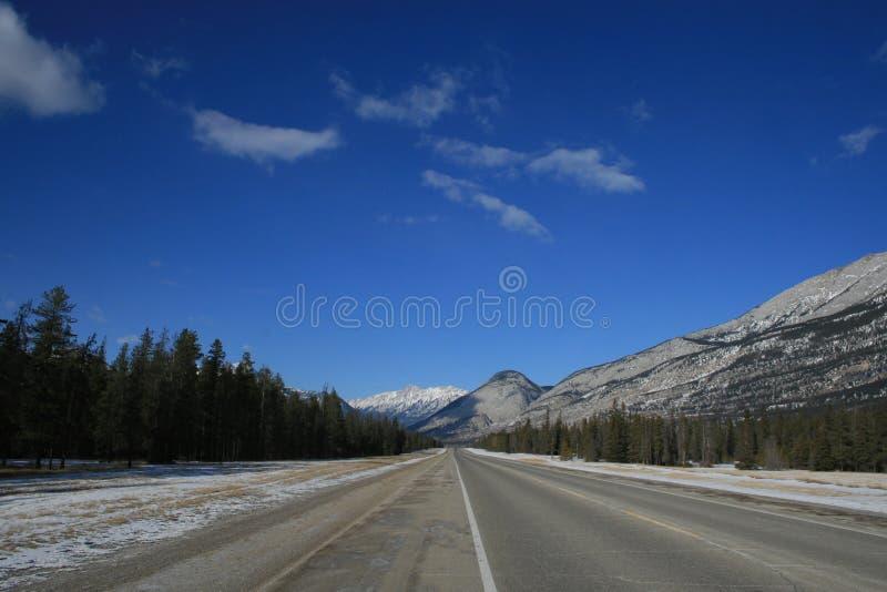 Weit entfernt in den felsigen Bergen, Kanada lizenzfreie stockfotos