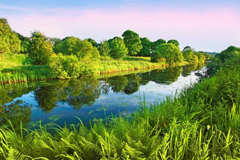 Weiter und Clyde-Kanal, Schottland lizenzfreie stockfotos