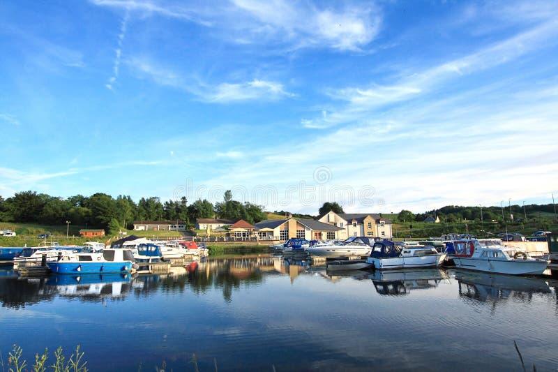Weiter und Clyde-Kanal, Schottland lizenzfreies stockfoto
