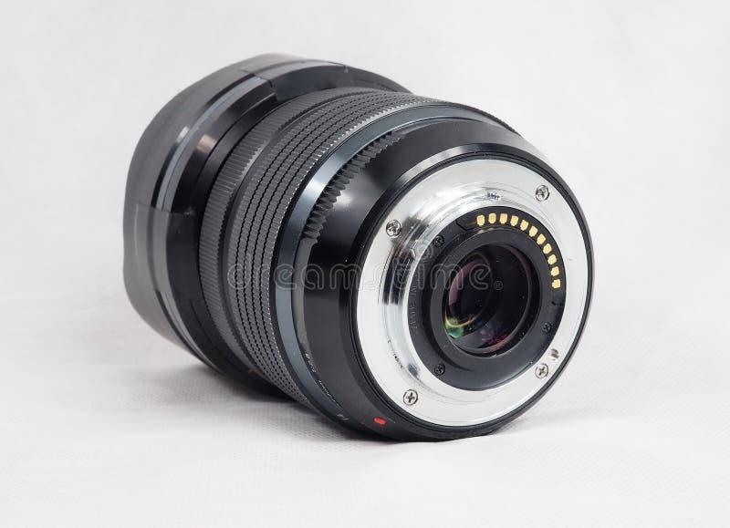 Weitwinkelobjektiv für fotocamera stockbilder