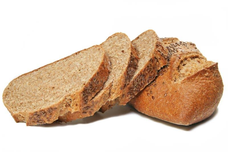 Weizen-Brot-Scheiben stockfoto