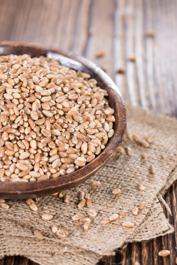 Weizen-Körner lizenzfreies stockbild
