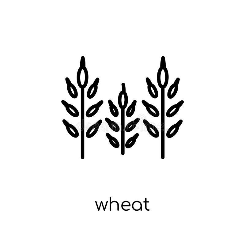 Weizenikone  stock abbildung