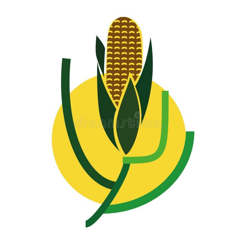 Weizenkornlogo - Gemüsesammlung vektor abbildung