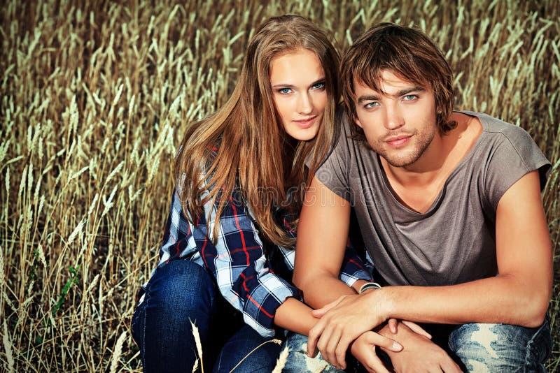 Weizenpaare lizenzfreie stockfotos