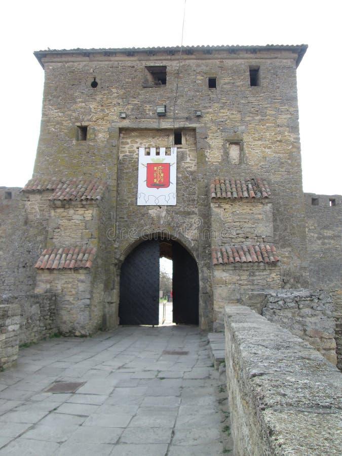 Wejście Akkerman forteca zdjęcie royalty free