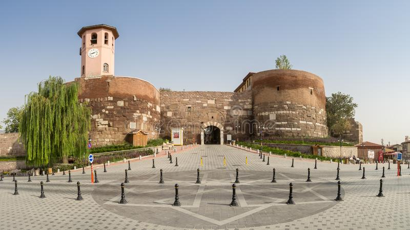Wejście Ankara kasztel fotografia royalty free