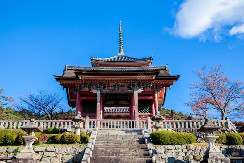 Wejście antyczna świątynia Kyoto, Japonia fotografia stock