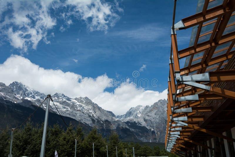 Wejście chabeta smok Mt zdjęcia royalty free