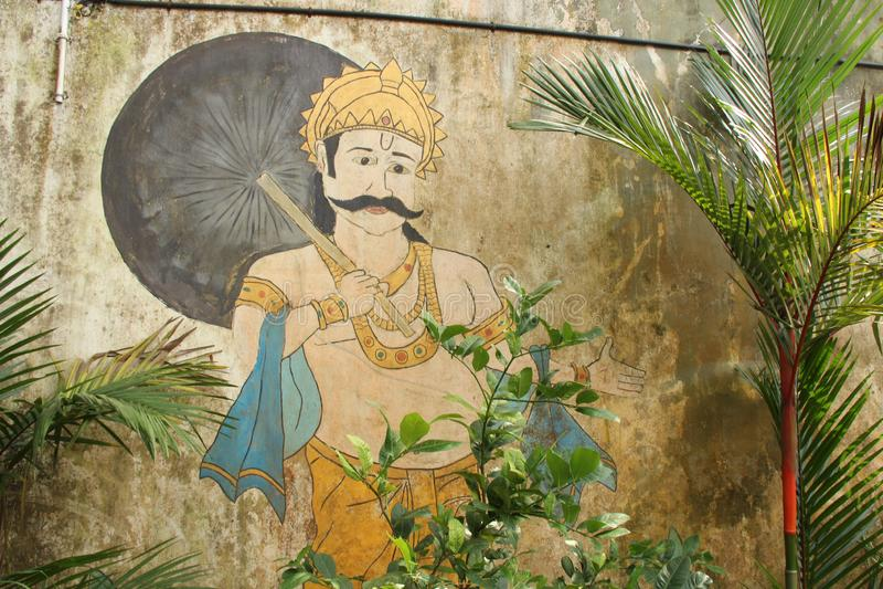 Wejście Dhobi Khana zdjęcia royalty free