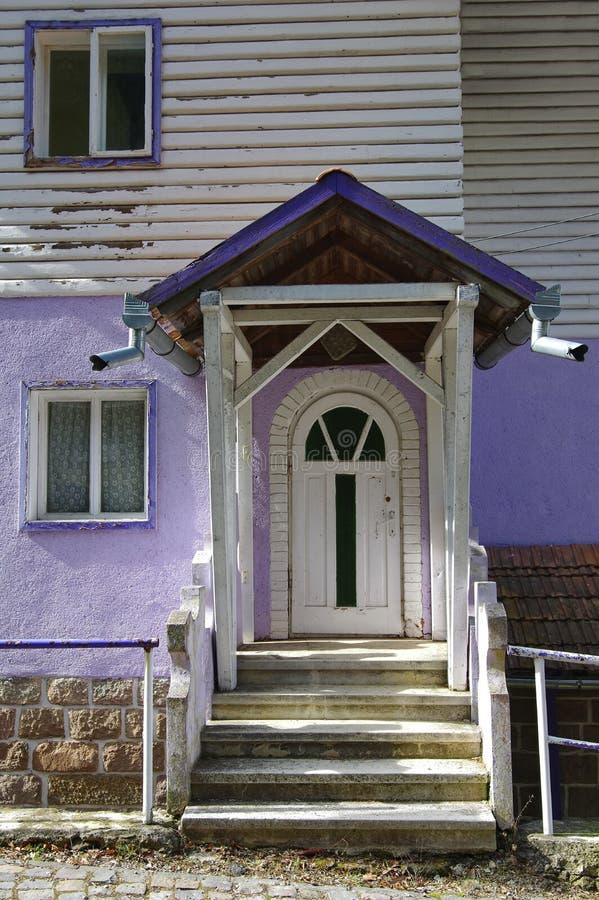 wejście do domu zdjęcia stock