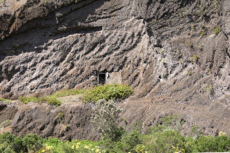 Wejście do jaskini Aborygena fotografia stock