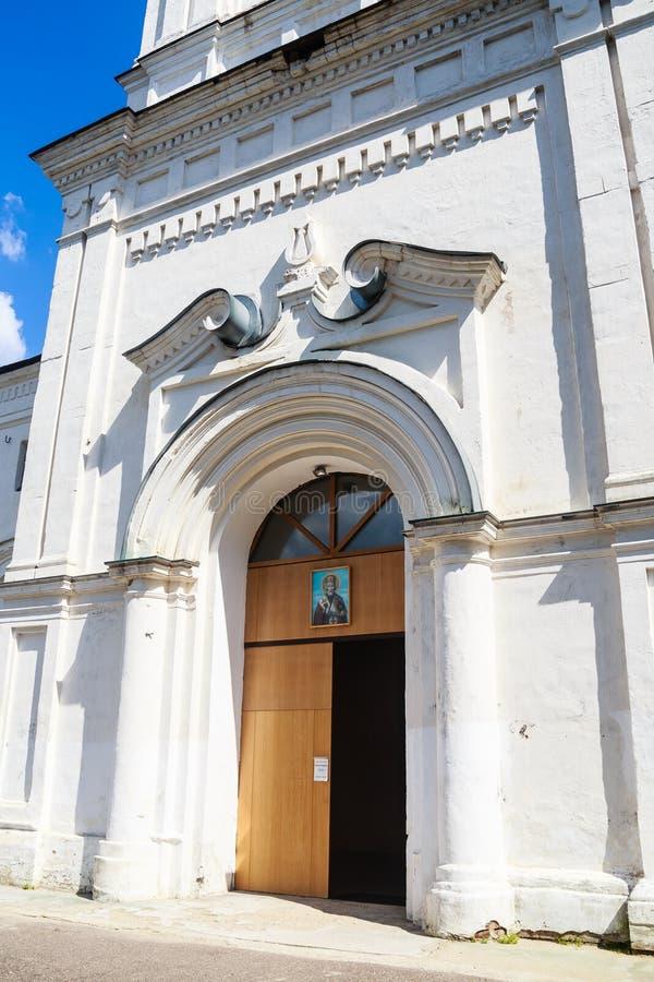 Wejście Dzwonkowy wierza St Nicholas kościół obrazy royalty free