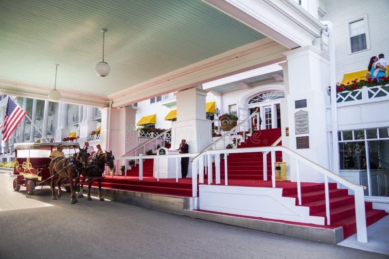 Wejście Elegancki Uroczysty hotel zdjęcie stock