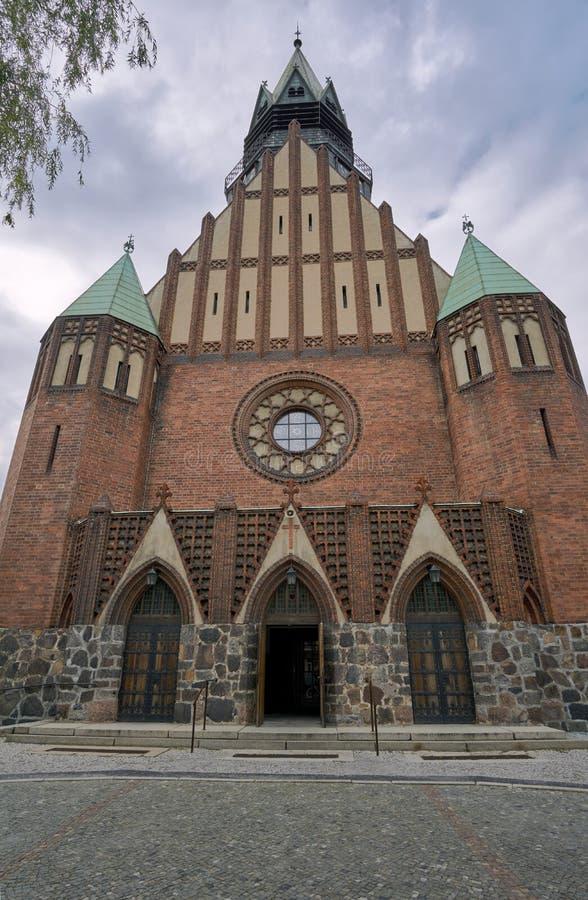 Wejście gotyk, Ewangelicki churc fotografia stock