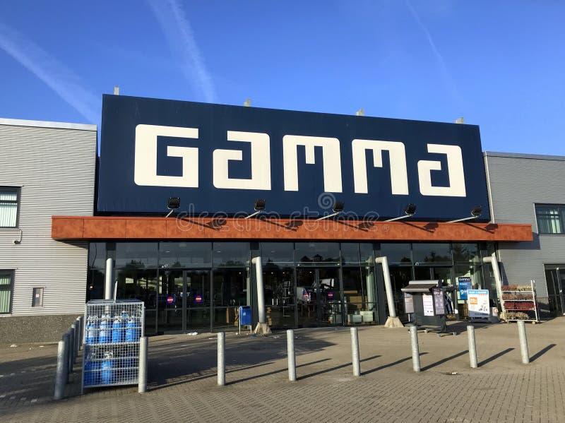 Wejście Holenderskie narzędzia sklepu gamma fotografia royalty free