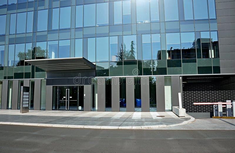 Wejście hotel zdjęcie stock