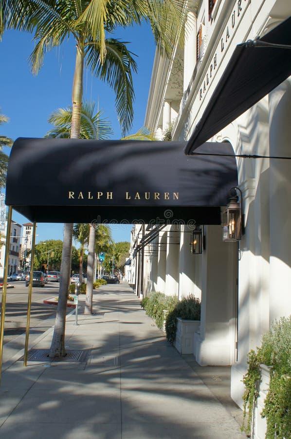wejście lauren Ralph sklep zdjęcia stock