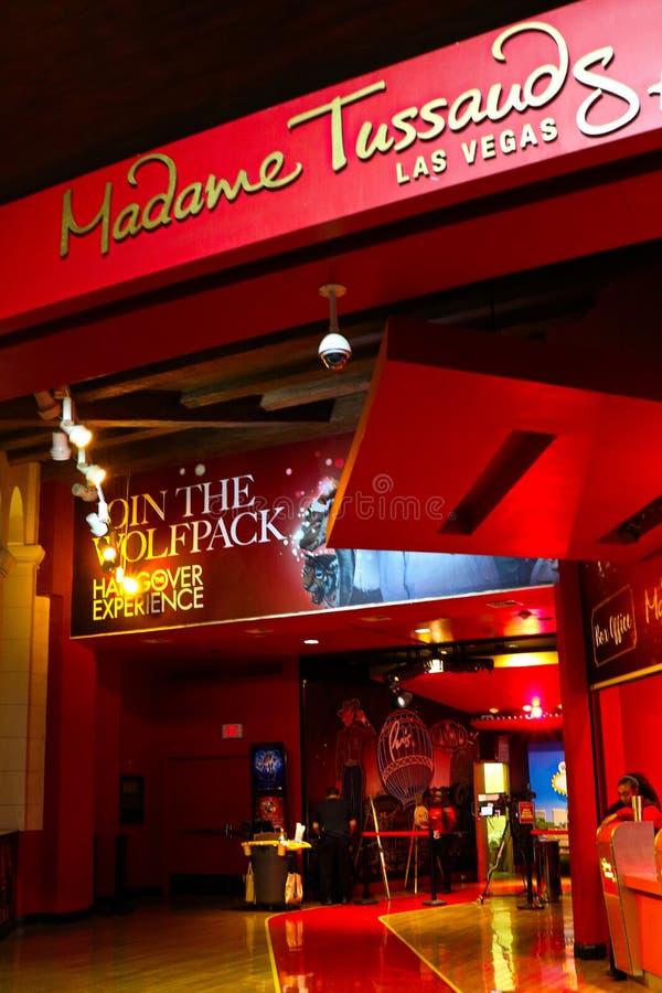 Wejście Madame Tussauds wosku muzeum obrazy stock