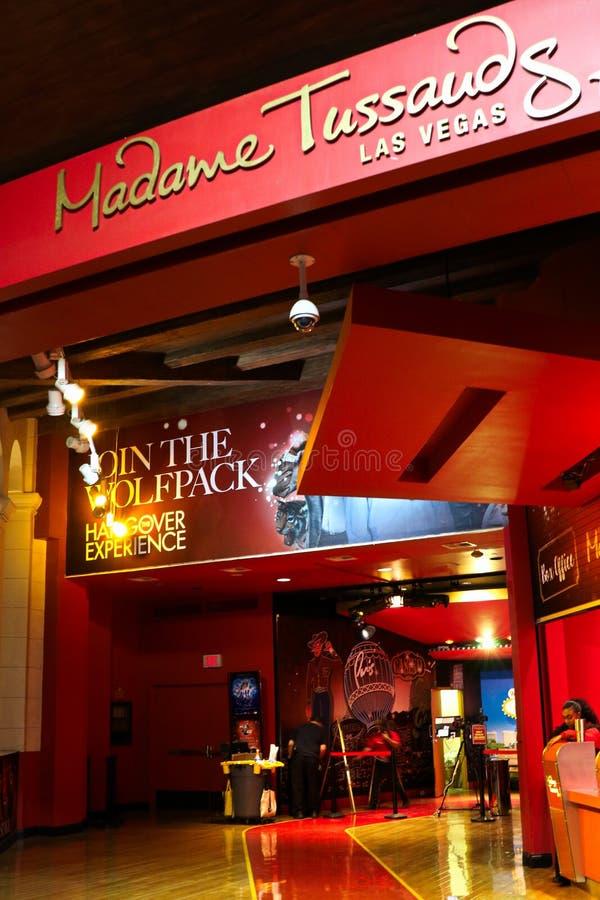 Wejście Madame Tussauds wosku muzeum obraz royalty free