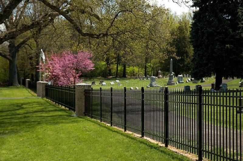wejście na cmentarz obrazy stock