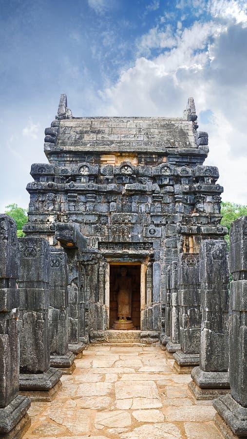Wejście Nalanda Gedige fotografia royalty free