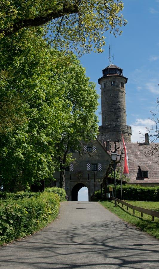 Wejście niemiecki grodowy Altenburg fotografia royalty free