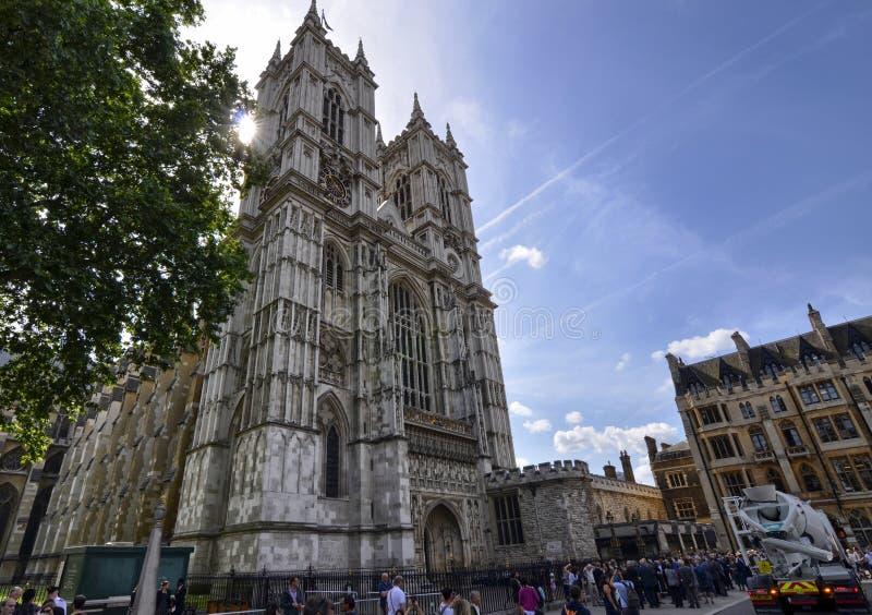 Wejście opactwo opactwo abbey z okazji prozaicznego wydarzenia fotografia stock