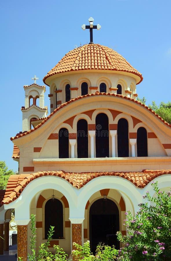 Wejście ortodoksyjny kościół zdjęcie stock