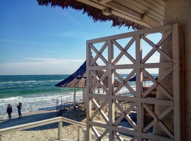 Wejście plaża zdjęcie royalty free