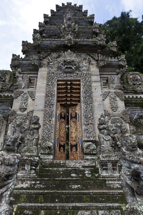 Wejście Pura Kehen świątynia w Bali, Indonezja obrazy royalty free