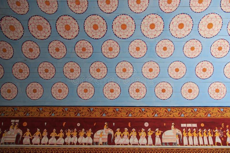 Wejście Sri Dalada Maligawa lub Święta ząb relikwia świątynia zdjęcie stock