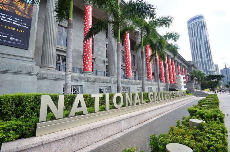 Wejście stary urząd miasta, Singapur obraz stock