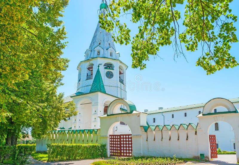 Wejście Suzdal Kremlin obrazy royalty free