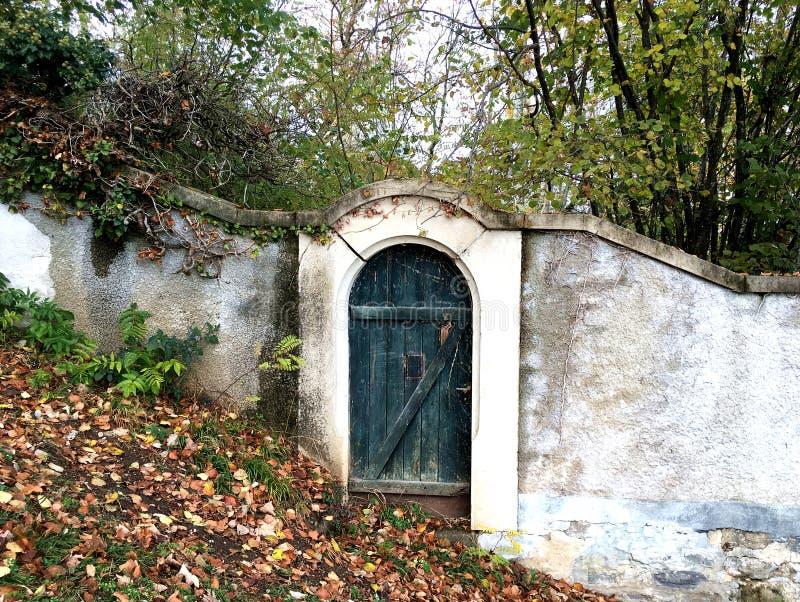 Wejście Tajny ogród fotografia royalty free