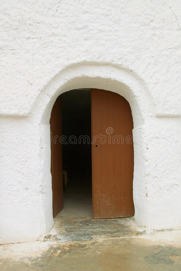 Wejście w mieszkaniowych Berbers zdjęcia royalty free