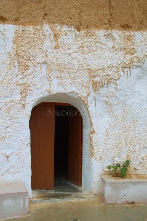 Wejście w mieszkaniowych Berbers fotografia stock
