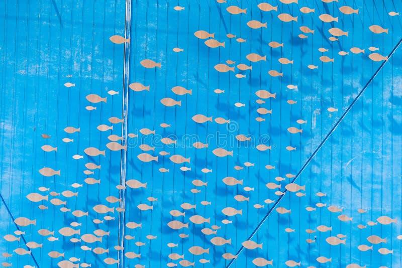 Wejście wielki akwarium w Europa z 600 zwierzęcymi gatunkami i 200 vegetal gatunkami obrazy stock