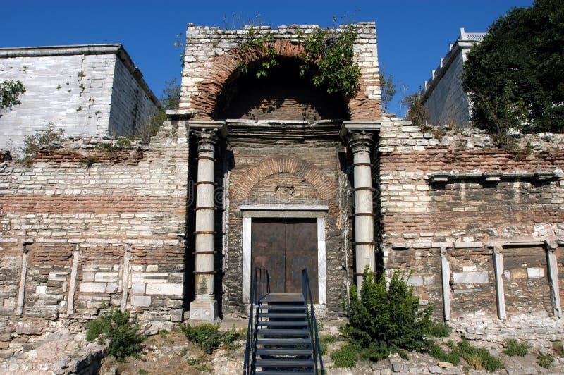 wejściowa brama złoty Istanbul fotografia stock