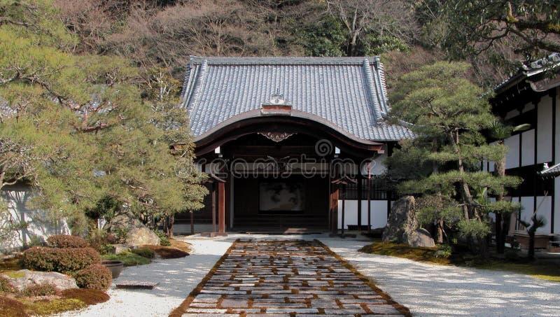 wejściowa do świątyni fotografia royalty free