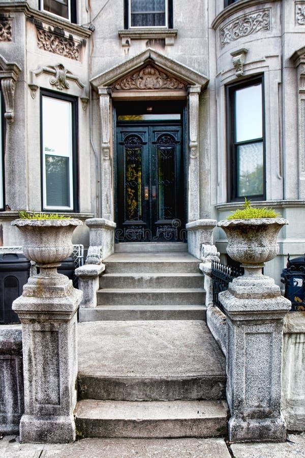 wejściowy dom zdjęcie royalty free