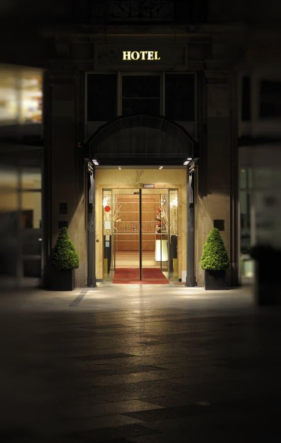 wejściowy fasadowy hotel zdjęcie stock