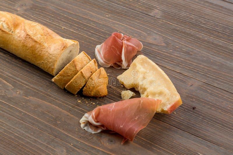 Wek van wit brood stock fotografie